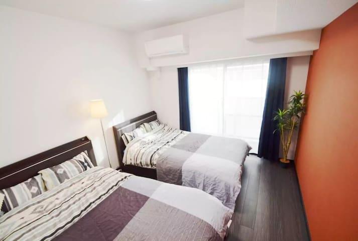 55# 1MIN sta. Center of Shinjuku(新宿)-BEST LOCATION - Shinjuku - Apartamento