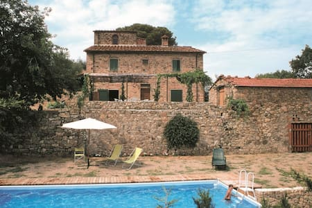Casa Rossa, sleeps 7 guests in Pieve San Giovanni - Capolona