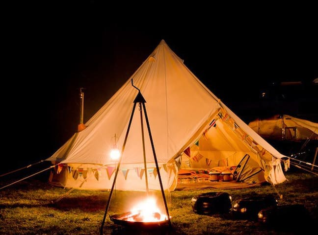 Beautiful bell tents Alfriston - Alfriston - Tent