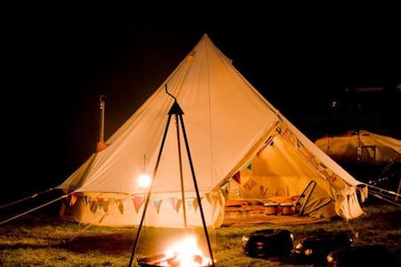 Beautiful bell tents Alfriston - Alfriston - Tenda de campanya
