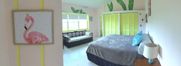 El yunque rainforest, Banana room