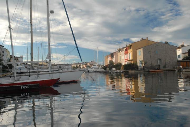 Villa accès direct mer à Port Grimaud