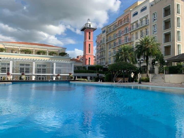 Suíte hotel Il Campanário Jurerê Internacional