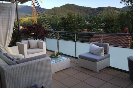 Stilvoll eingerichtete Wohnung mit großer Terrasse - Waldkirch - Daire