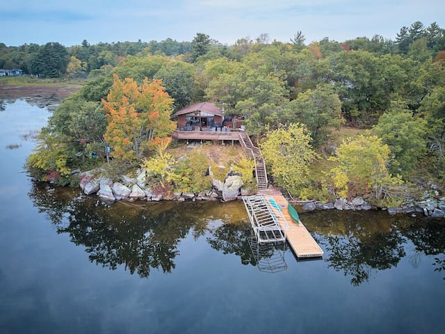 Secluded Family Cottage on Sparrow Lake, Muskoka