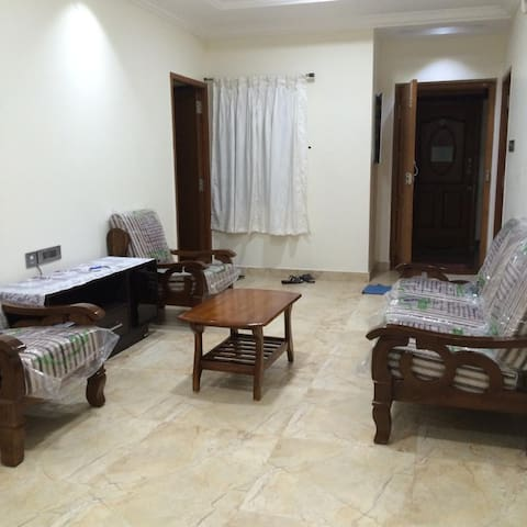 Newly furnished flat - I Block Anna Nagar West