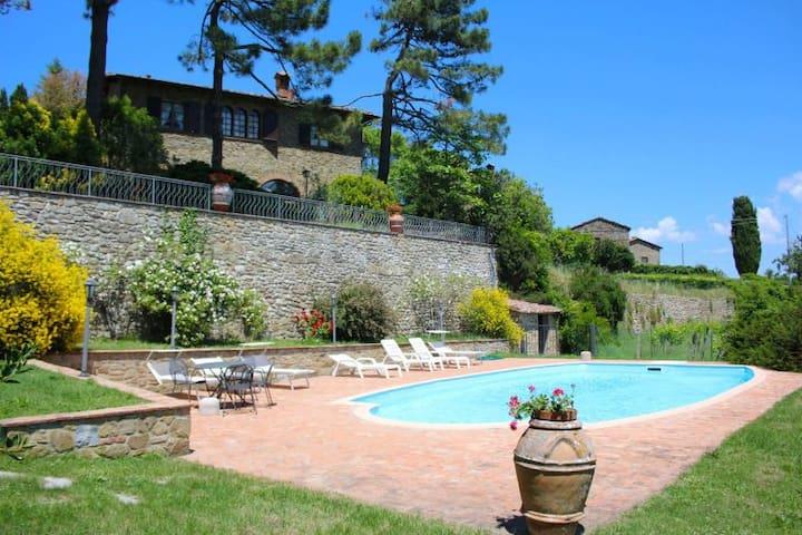 PALAZZOLO ALTO - Monte San Savino - บ้าน