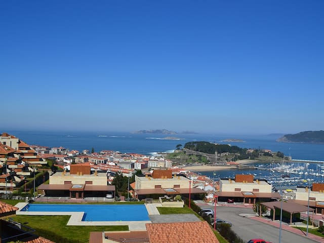 House with stunning views in Baiona - Baiona - Apartamento