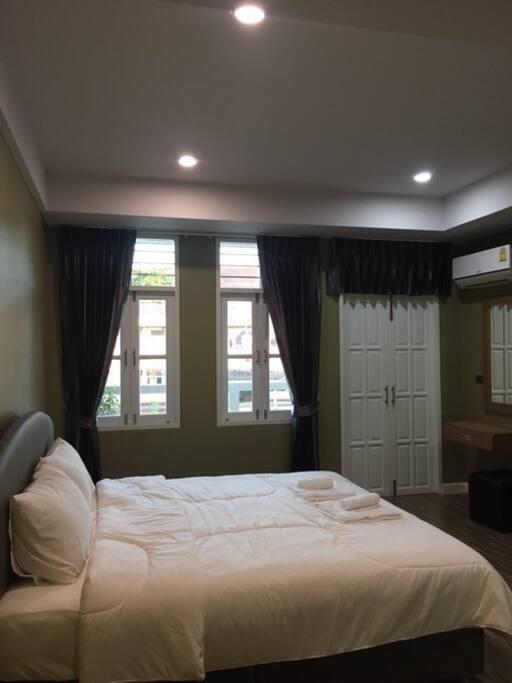 ห้องพักสะอาดและสวยงาม