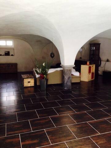 Chambre dans maison parc des ecrins - Oris en rattier