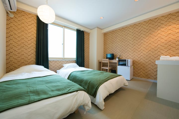 Comfortable Room, nearest Kanazawa Sta. WIFI#201