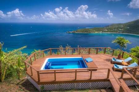 TRANQUIL & PRIVATE WHALE WATCH 2 bed + pool