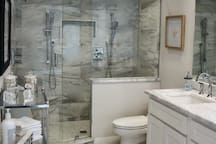 Master Private Bathroom with walk-in shower.