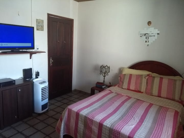 Comfortable room just steps from the beach