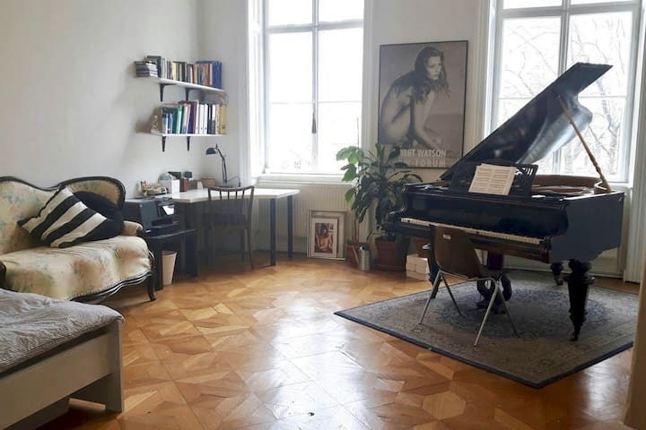 private room- classic viennese flat in city centre