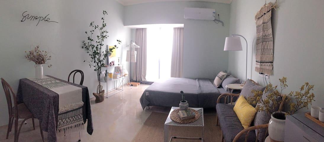 ROOM 2-佛山广佛线桂城站楼上全新公寓,配套完善,3站直达祖庙,3站直达宜家家居