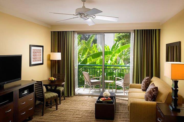 Living-room (1-Bedroom Unit)