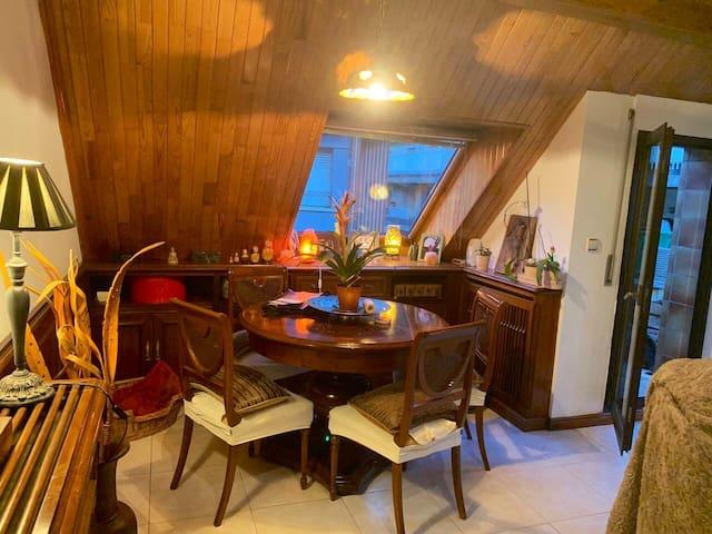 Acollidora habitació amb bany al centre d'Andorra