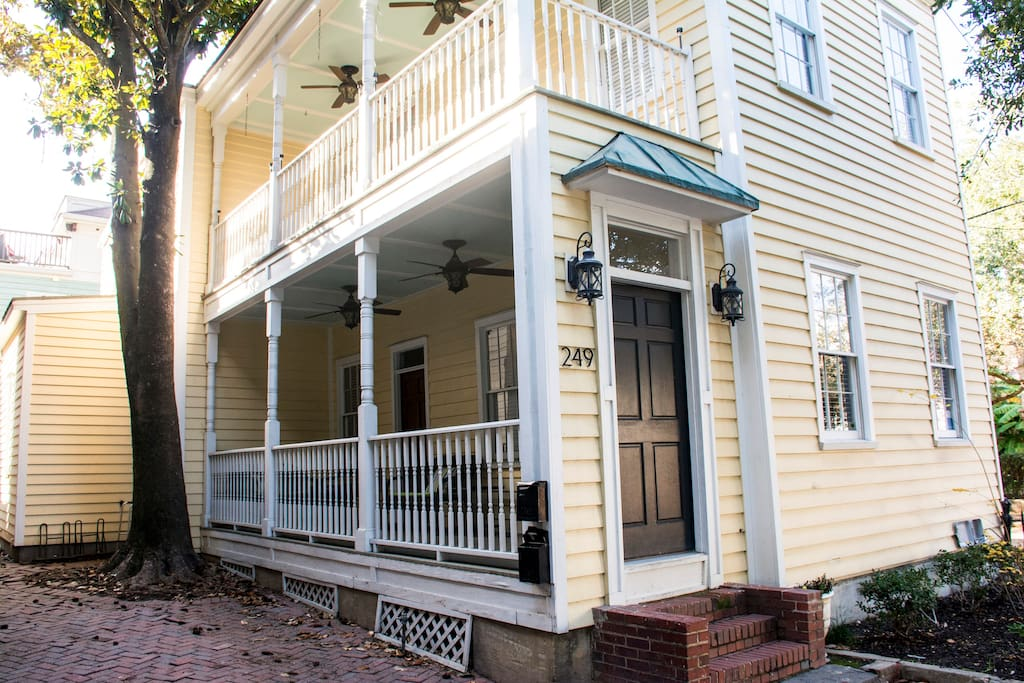 Classic Charleston House with Side Porch