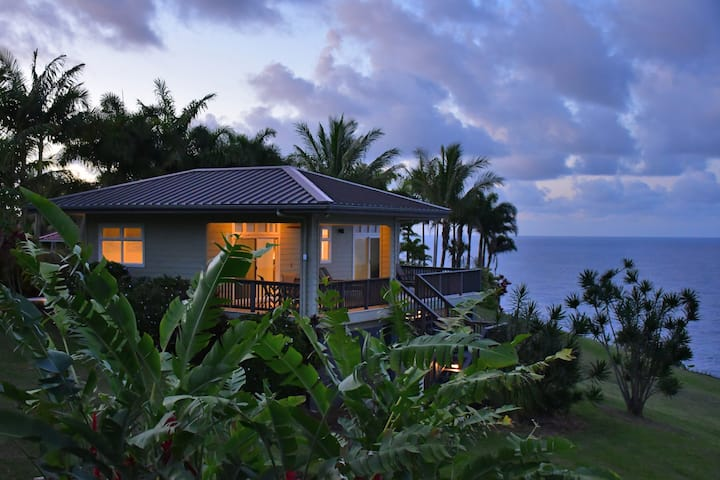 Heavenly Hakalau: Oceanfront Cliff House