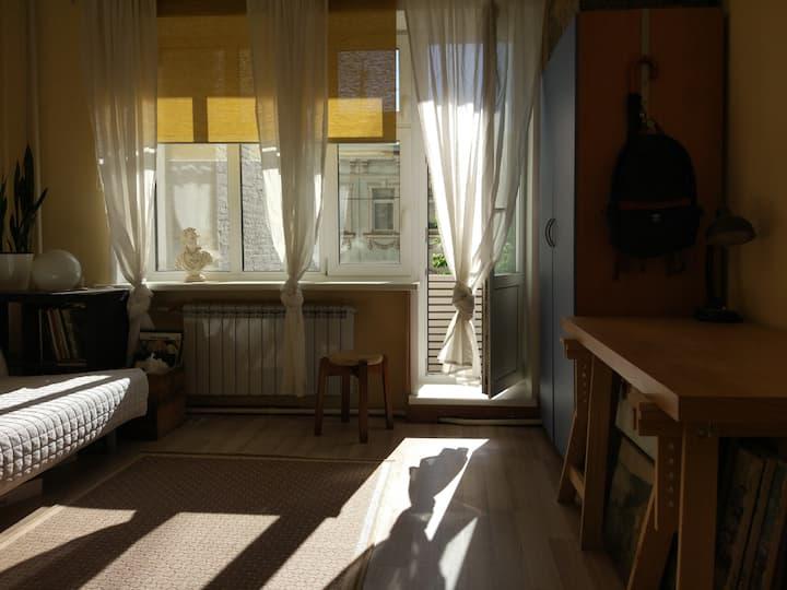 Apartment in the centre of Moskow, Arbat