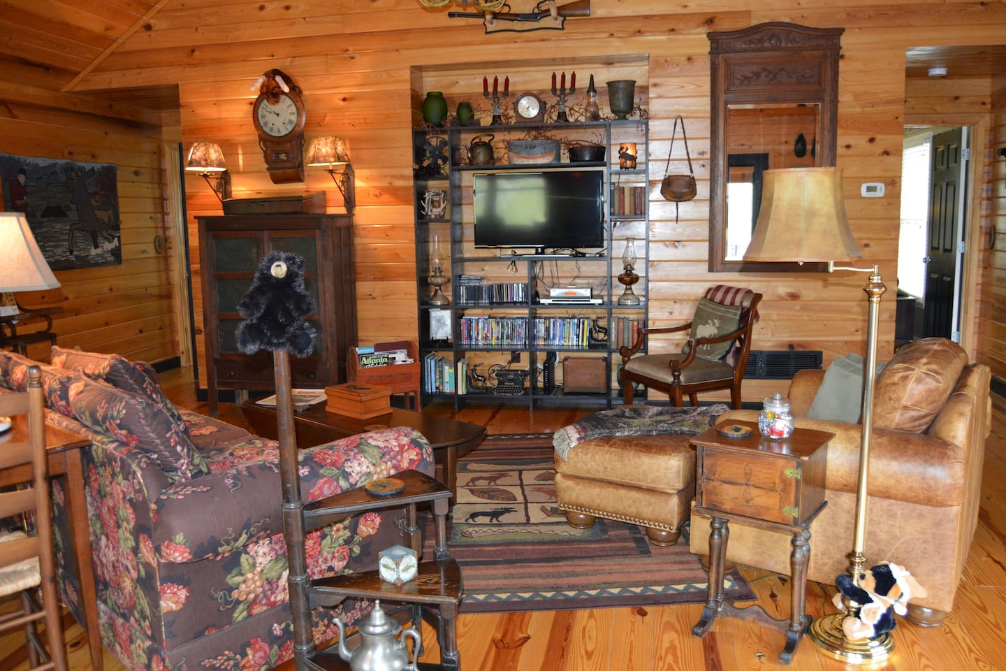 Open living area in Moose Lodge.