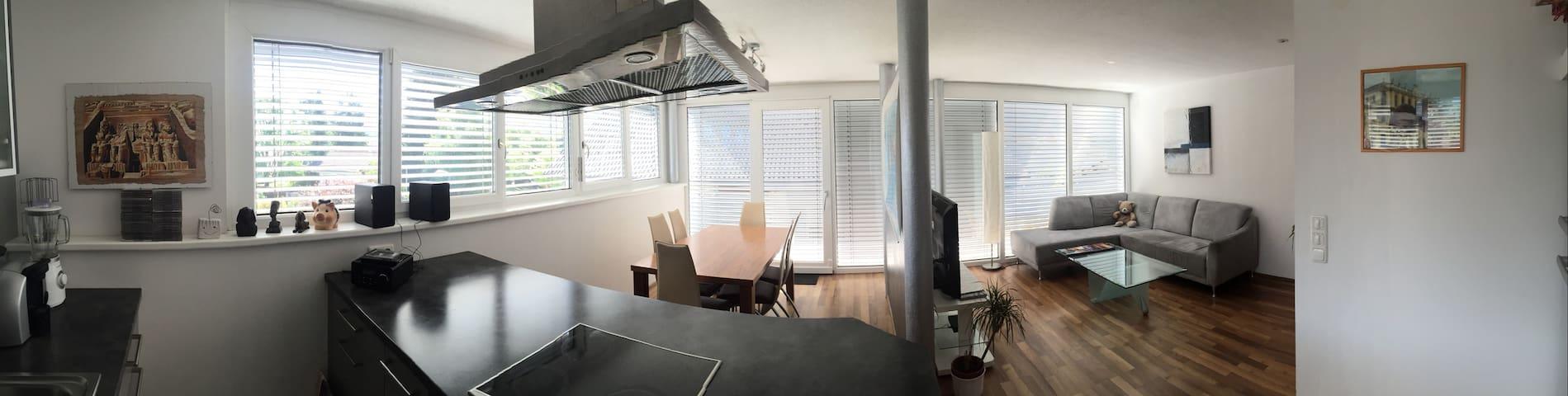 Moderne Terrassenwohnung - Dornbirn - Apartment
