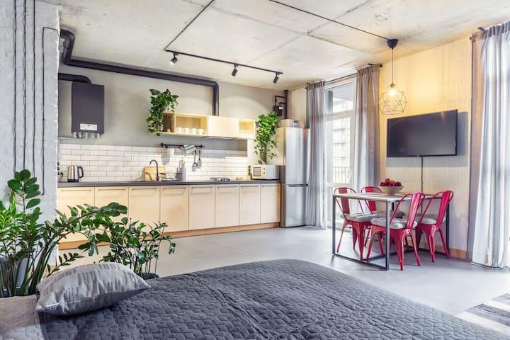 Sky Loft Studio Apartment