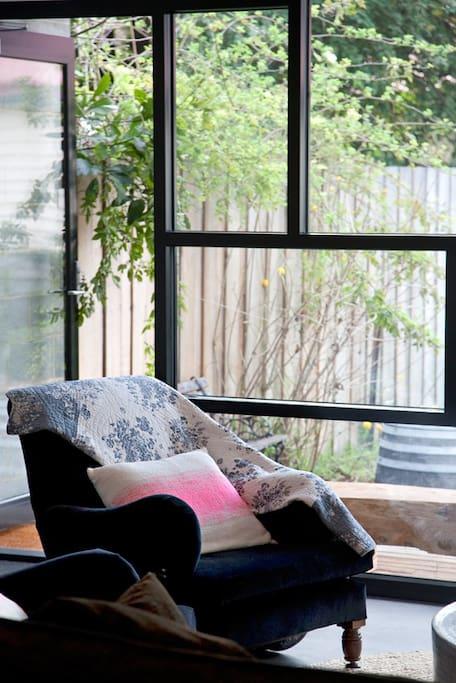 Sunny lounge
