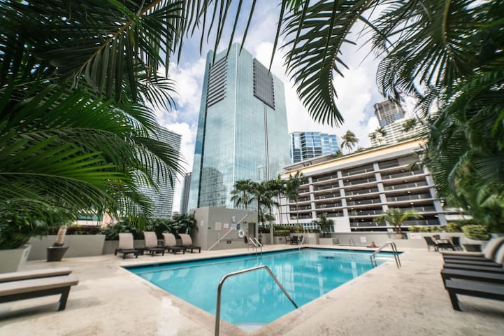 Fully Equipped Apartment - Downtown Miami/Brickell
