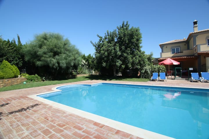 pool heated all year,jacuzzi,games rooms,cinema - Moncarapacho - Casa
