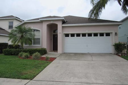 Highlands Reserve 4/2 Pool Home property, fully furnished, with full kitchen, and all linens and towels. - DAVENPORT - House