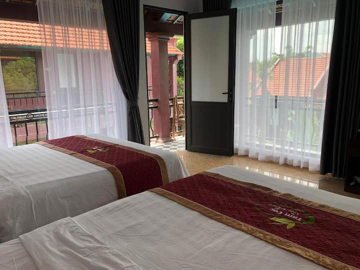 Family Room with Garden View - Tea House Tam Coc