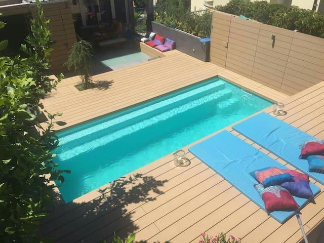 Luxury house: 2 bedrooms, private pool, jacuzzi - Crikvenica - บ้าน