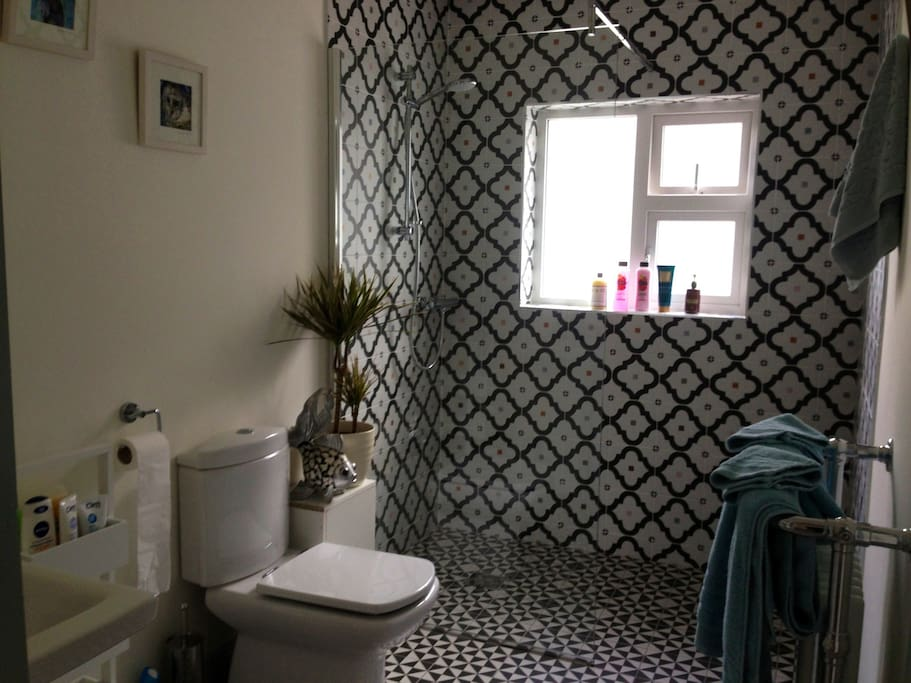 New bathroom.