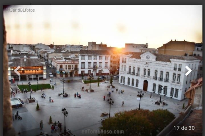 Piso muy luminoso cercano a Plaza de España.