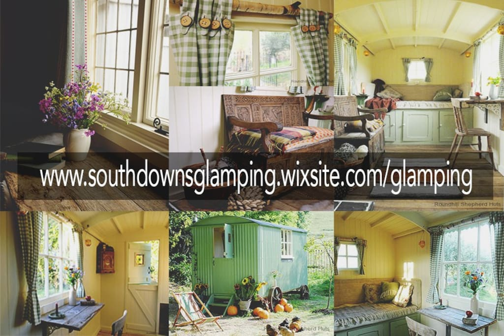 Check out our website for photos, information and location details!! www.southdownsglamping.wixsite.com/glamping