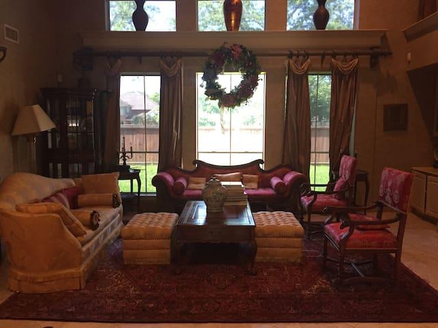 Charming Sugar Land/Houston Vacation Master Suite