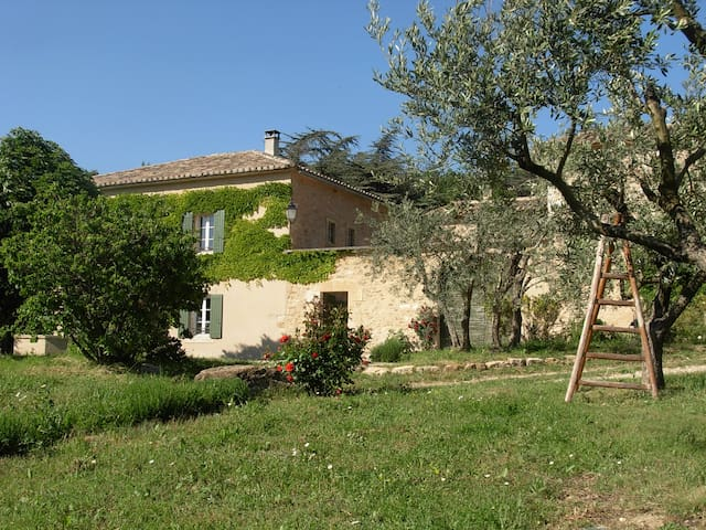 Holidays cottage in Provence (Gîte) - Maubec