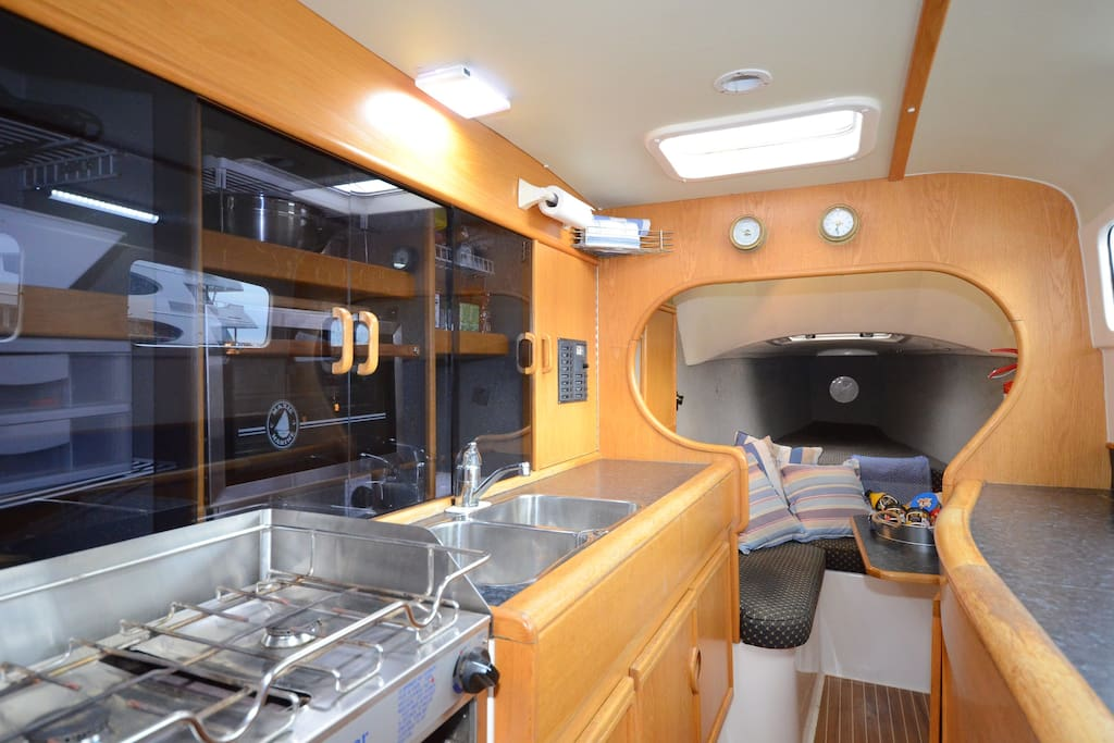 Fully fitted galley
