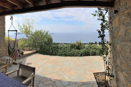 House Philoxenia, breathtaking sea view - Kato Agios Petros