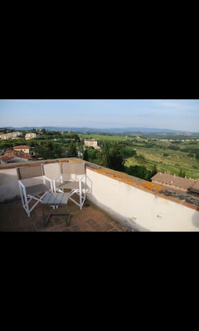 Appartamento delizioso con torre panoramica