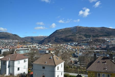 Nice room in a cozy apartment close to city centre - Bergen - Apartment