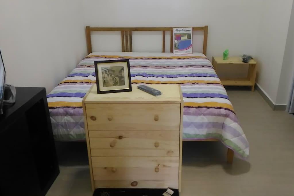Queen Bed option