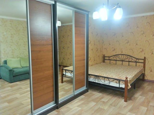 Студия на Вокзальной! - Astrakhan' - Lägenhet