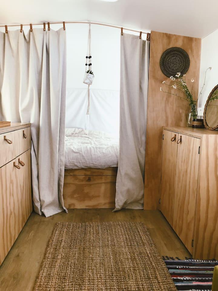 Modern retro Caravan
