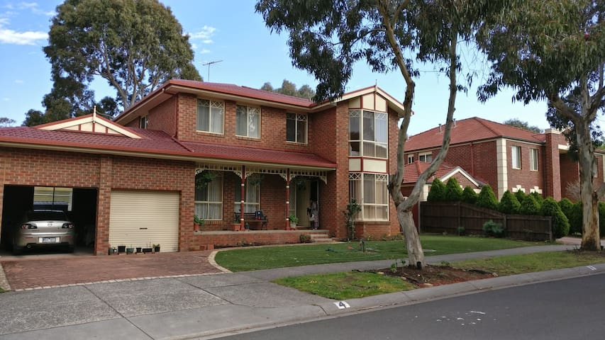 Home close to Mt. Waverley rail station.