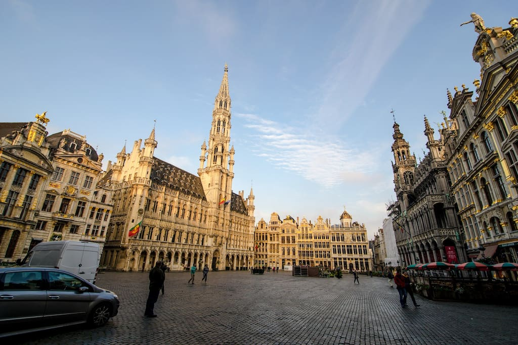 """""""The Grand Place"""", Unesco heritage.  Just nearby my apartment ;-)"""