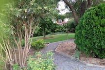 Extensive gardens for your pleasure