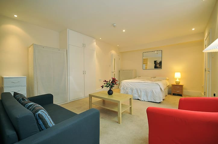 Large and bright Studio flat